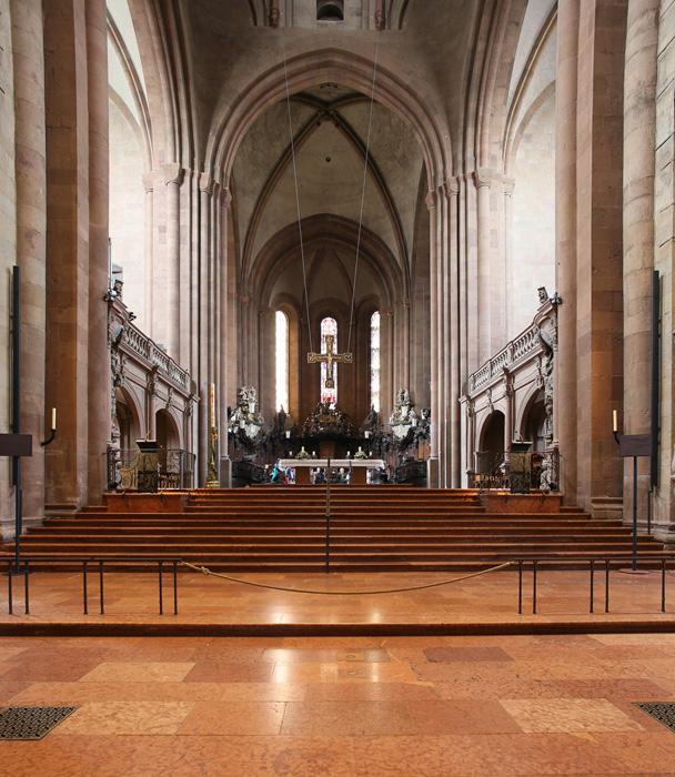 Western chancel and transept,  Mainzer Dom Sankt Martin, Mainz  (Rhineland–Palatinate)  Photo by Jong-Soung Kimm