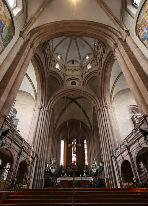Western crossing and transepts, Mainzer Dom Sankt Martin, Mainz (Rhineland–Palatinate)  Photo by Jong-Soung Kimm