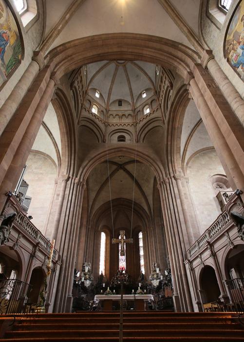 Western crossing and transepts, Mainzer Dom Sankt Martin, Mainz (Rhineland–Palatinate)  Photo by Jong-Soung Kimm