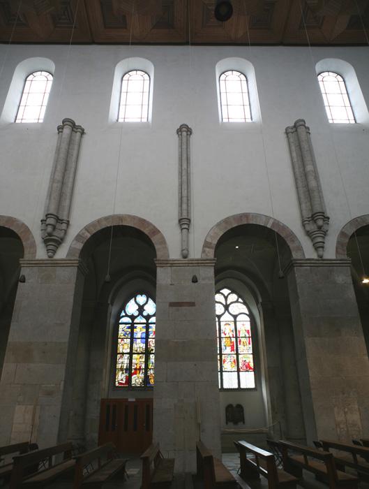 Nave elevation, Sankt Maria im Kapitol, Cologne (North Rhine-Westphalia) Photo by Jong-Soung Kimm