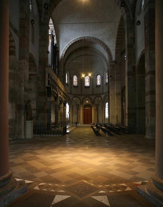 Northern apse, Sankt Maria im Kapitol, Cologne (North Rhine-Westphalia) Photo by Jong-Soung Kimm