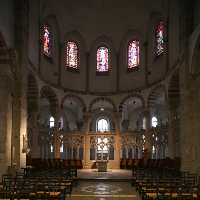 Eastern apse, Sankt Maria im Kapitol, Cologne (North Rhine-Westphalia) Photo by Jong-Soung Kimm