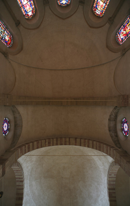 Vault, eastern apse, Sankt Maria im Kapitol, Cologne (North Rhine-Westphalia) Photo by Jong-Soung Kimm