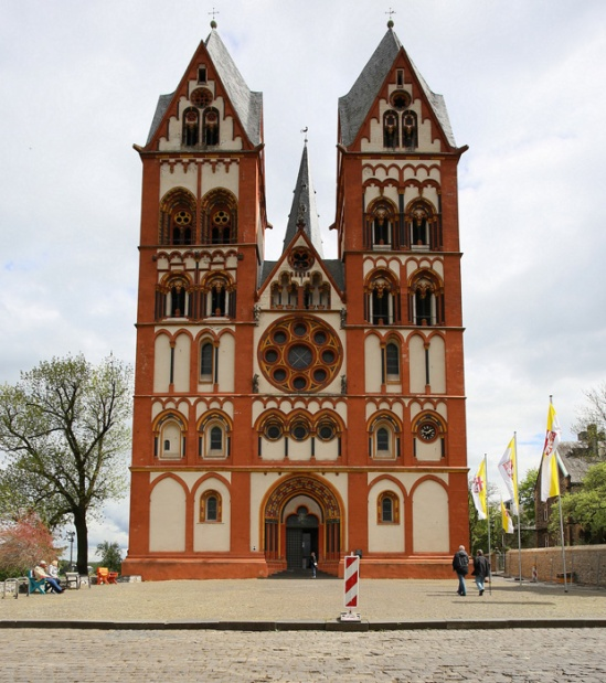 Westwork,   Cathedral of Saint George, Limburg an der Lahn (Hesse)  Photo by Jong-Soung Kimm