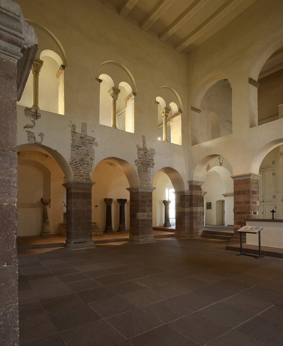 Interior detail, Imperial Abbey of Corvey, Corvey (North Rhine-Westphalia)  Photo by Jong-Soung Kimm
