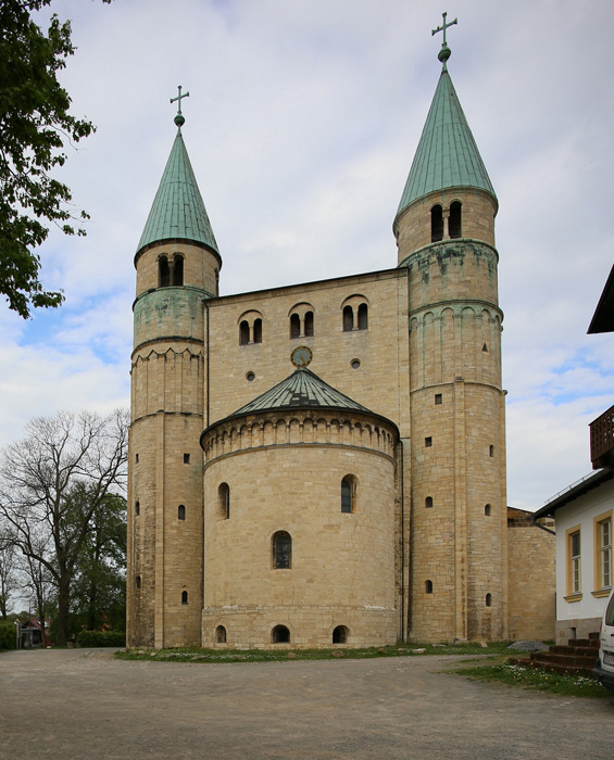 Westwork, Church of Saint Cyriakus, Gernrode (Saxony-Anhalt) Photo by Jong-Soung Kimm