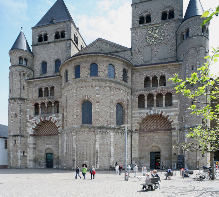 Westwork, High Cathedral Saint Stephen of Trier, Trier (Rhineland-Palatinate)  Photo by Jong-Soung Kimm